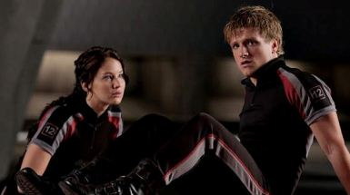 Katniss Peeta Training