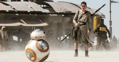 Rey BB-8 The Force Awakens