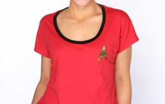 Her Universe Red Shirt