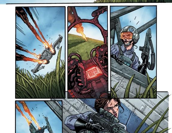Leia X-wing