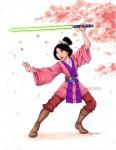 Mulan as a Jedi