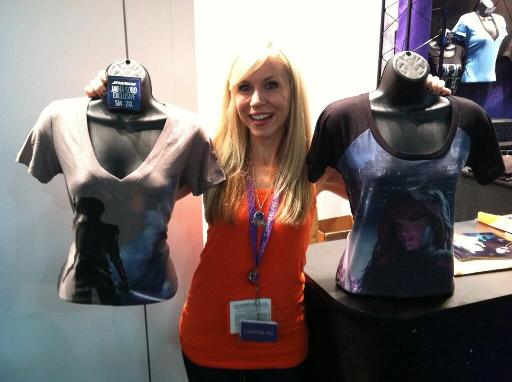 Ashley SDCC Jaina Mara Shirts