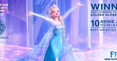 Frozen awards