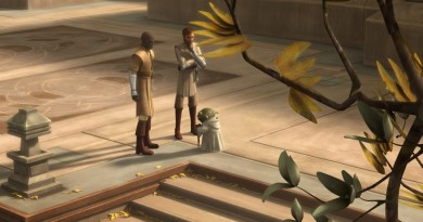 Yoda TCW Lost Missions Temple