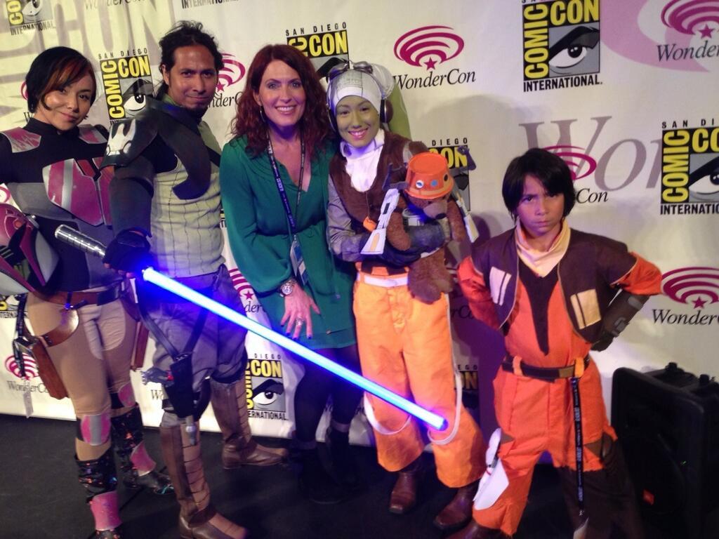 Wondercon Star Wars Rebels Roundup Fangirl Blog