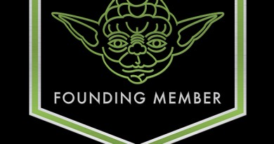 Star Wars Force For Change Founding Member Badge Yoda