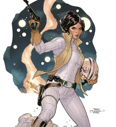 Marvel Star Wars Princess Leia cover