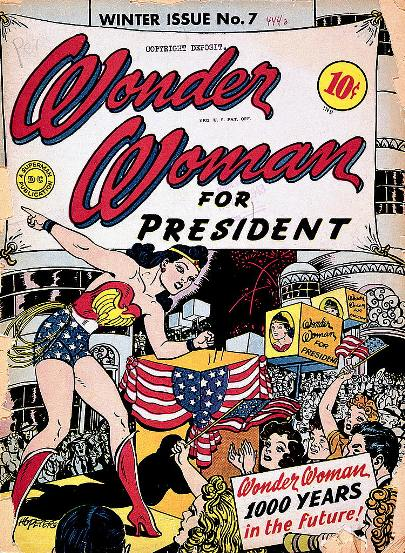 Wonder Woman for President (page 169) — image credit: Smithsonian Institution Libraries, Washington, D.C.