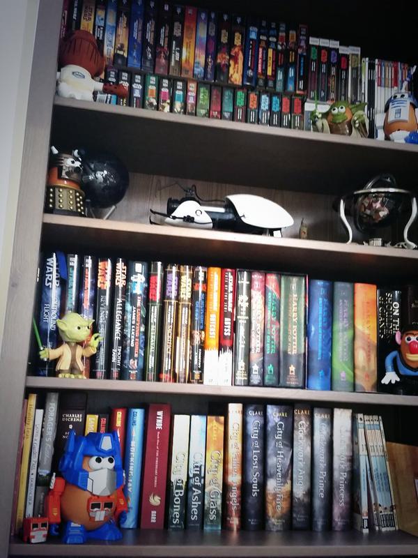 JediPrinczess bookshelf Wynde