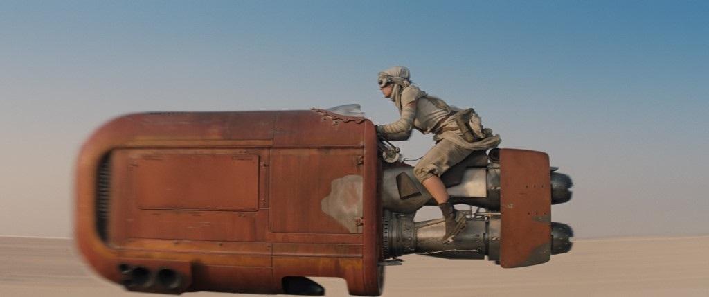 The Force Awakens teaser trailer Daisy Ridley