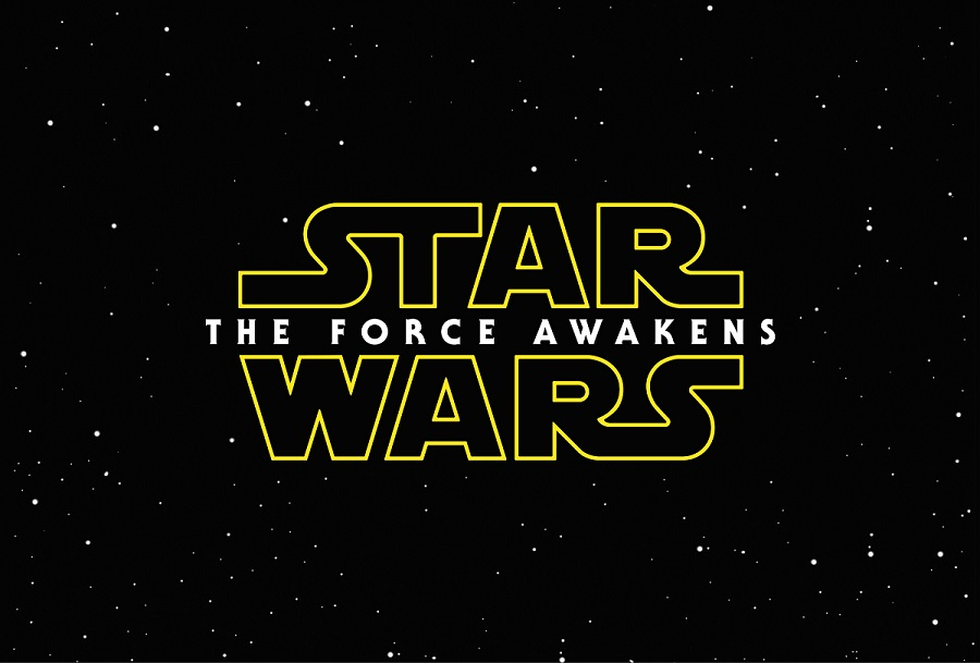 The Force Awakens title card