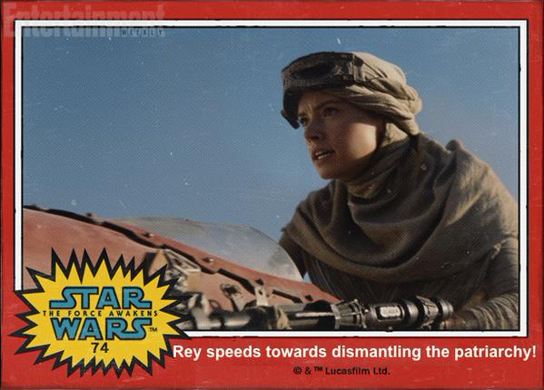 Rey speeder patriarchy