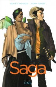 Saga comic Volume 1 cover