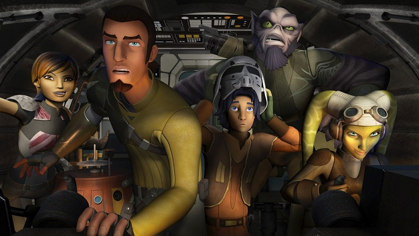 Rebels Ghost crew