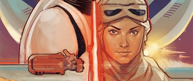 The Force Awakens fan art by professional artist Phil Noto