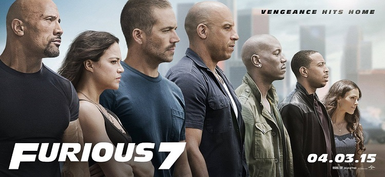 Furious 7 posters