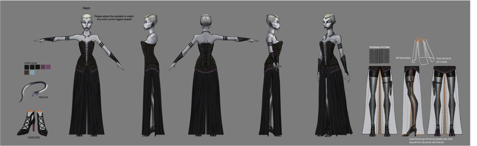 Untold TCW Ventress couture