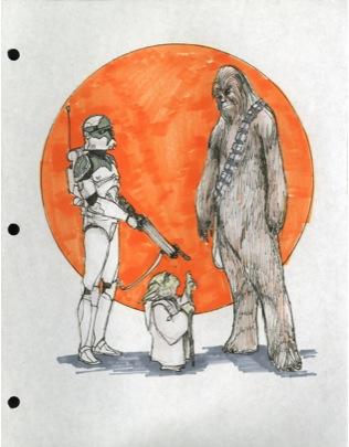 Untold TCW Yoda-Trooper