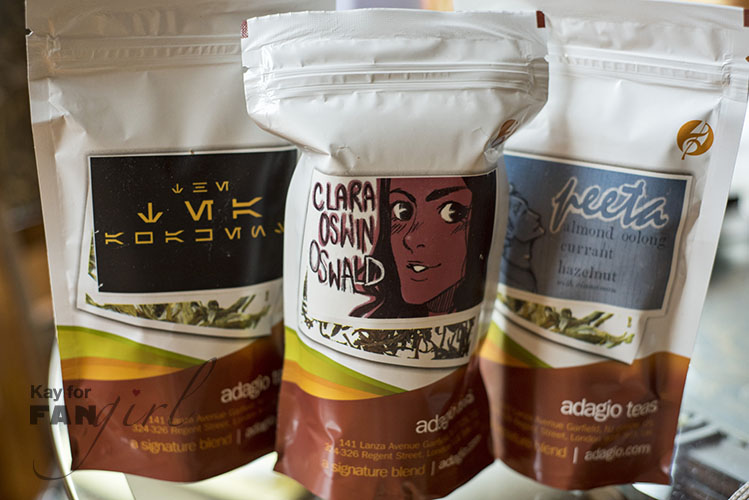 Fandom-Inspired Teas for Adagio
