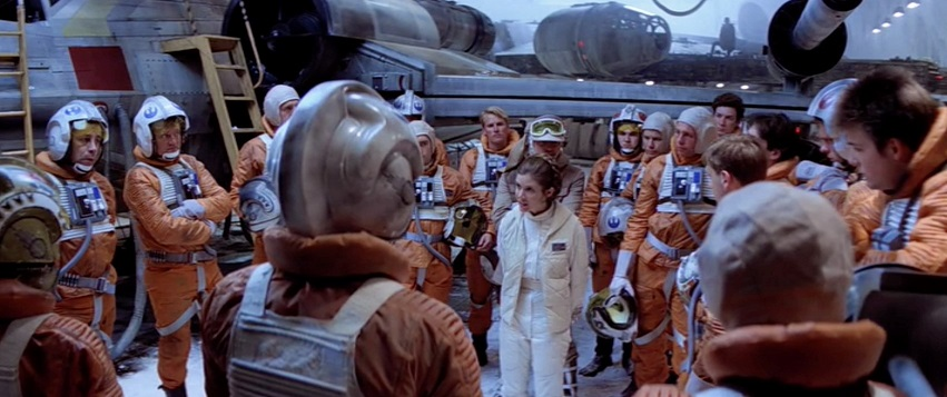 Leia Hoth briefing ESB