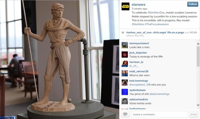 Rey sculpt