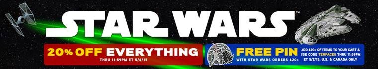 ThinkGeek May 4th sale 2015