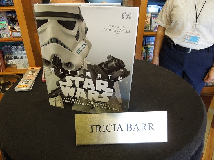 Tricia SWW signing