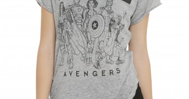 Black Widow and the Avengers Shirt