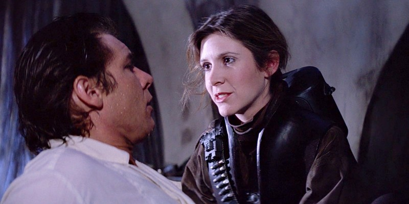 Leia Rescues Han in Return of the Jedi