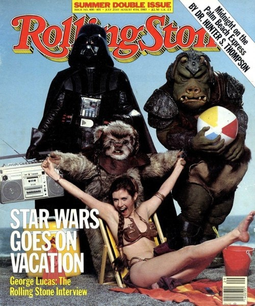 Carrie Fisher 1983 Rolling Stone cover