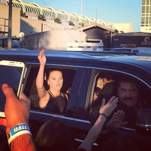 SDCC 2015 Daisy concert limo
