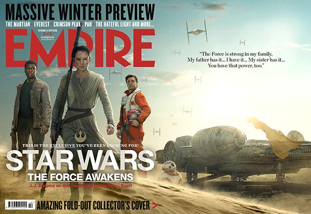 Empire Magazine TFA hero cover