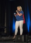 Marissa Bailey at Wizard World Supergirl Screening