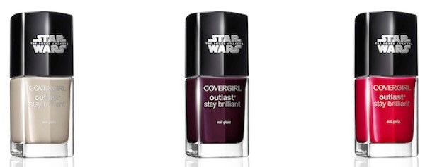 CoverGirl TFA nail polish Light Nemesis RedRevenge