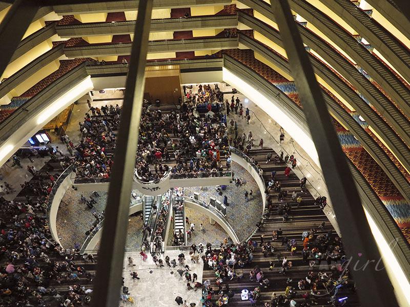 Dragon Con Marriott Atrium