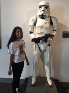 Linda Skylar LFL tour stormtrooper