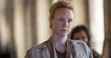 Gwendoline Christie Lyme in Mockingjay