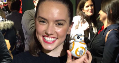 Ridley signed BB8