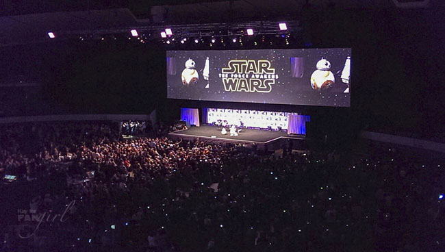 SWCA Opening Ceremony with BB-8