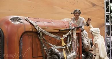 Rey & Rey at Rey's Speeder
