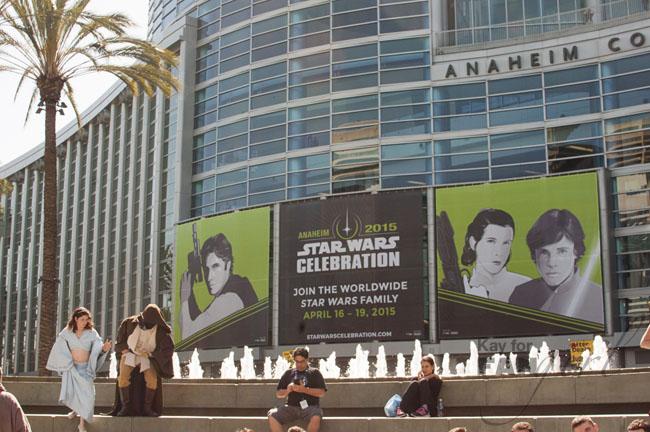 Star Wars Celebration Anaheim Banner