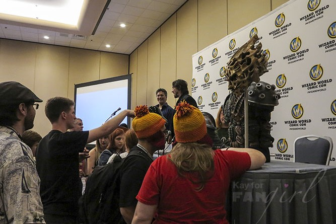 Advanced Armor Panel at Wizard World 2015