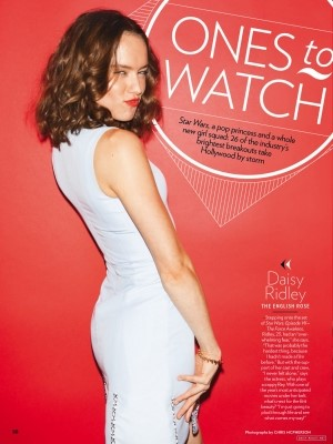 Daisy Ridley People Ones to Watch