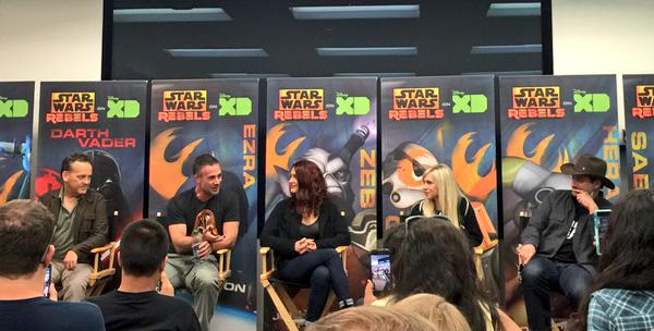dave filoni mic drops on creating female characters in star wars