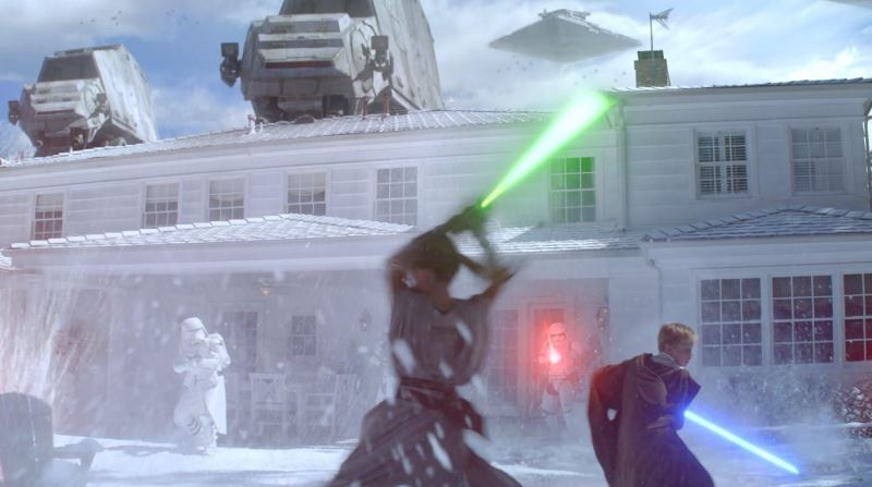 Duracell Star Wars Battle for Christmas Morning