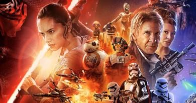 The Force Awakens Rey Han Leia