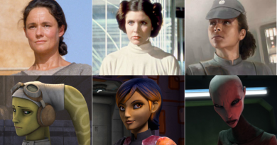 some of the strong women of Star Wars