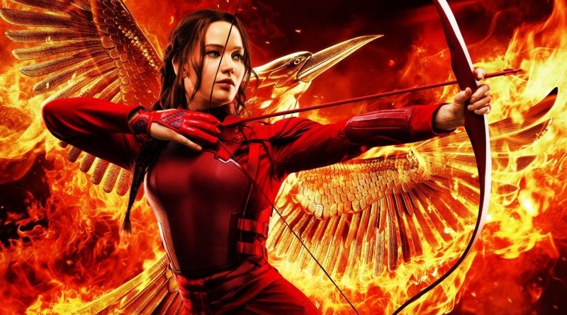 Katniss as Mockingjay