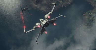 X-wing The Force Awakens