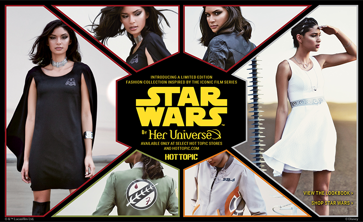 Her Universe Star Wars at Hot Topic